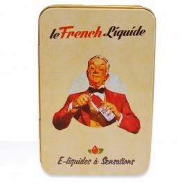 """French Barman"" metal box"