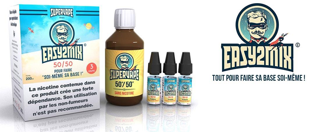 Kits básicos para DIY 200 ml e-líquidos Easy2Mix