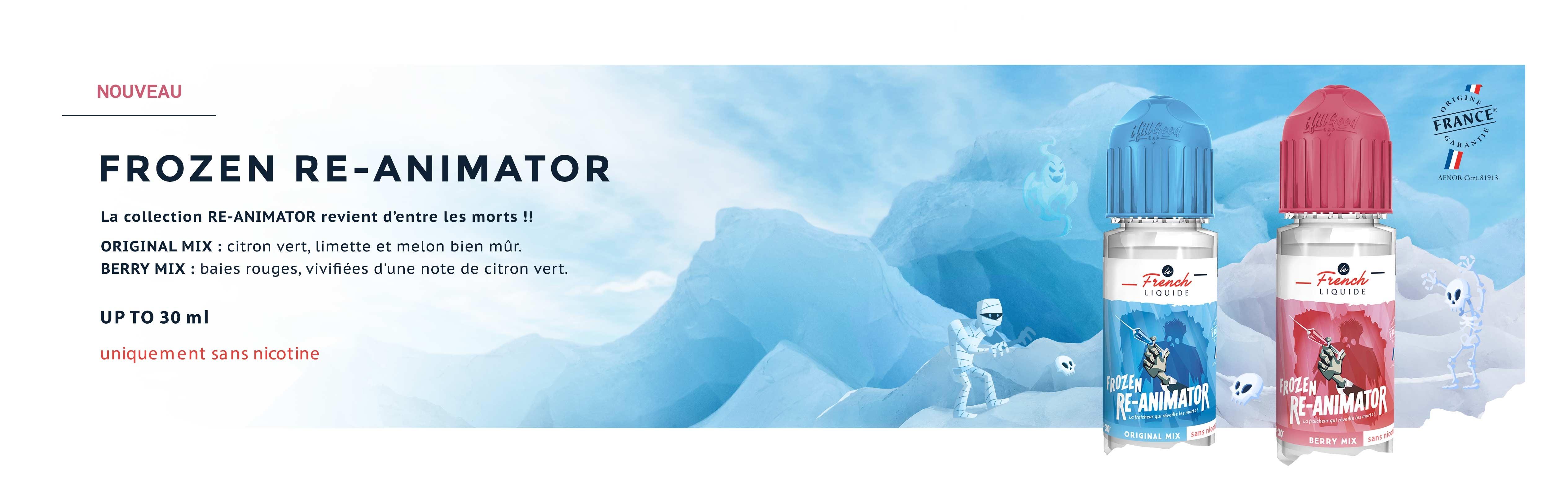 Frozen Ré-animator by Le French Liquide