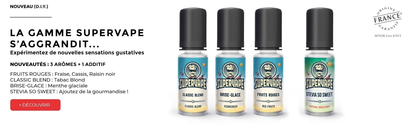 Concentrés d'arômes e liquide Supervape