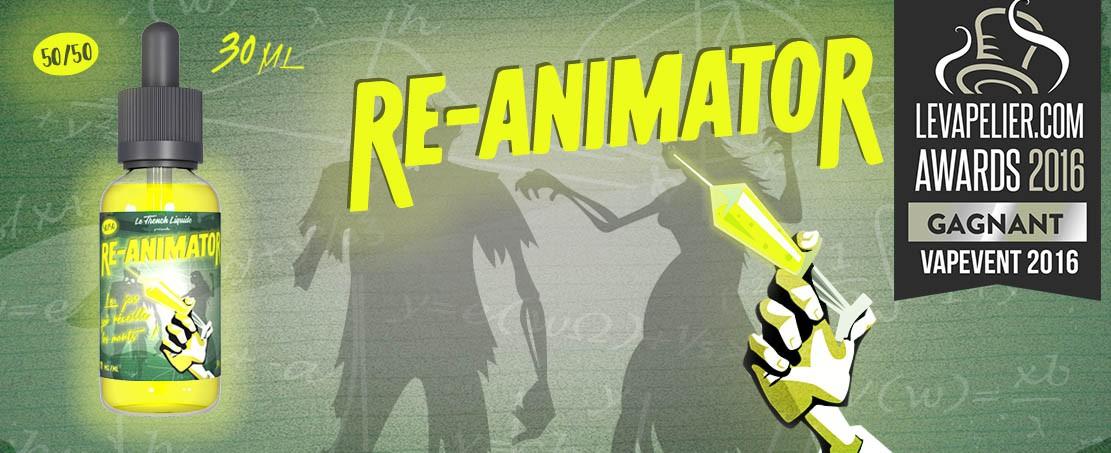 Re-Animator, gagnant Le Vapelier.com Awards 2016
