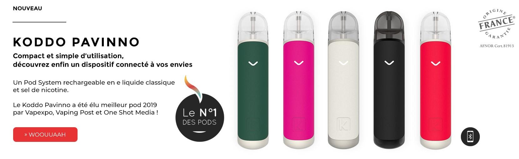 Koddo Pavinno Cigarette électronique Pod System