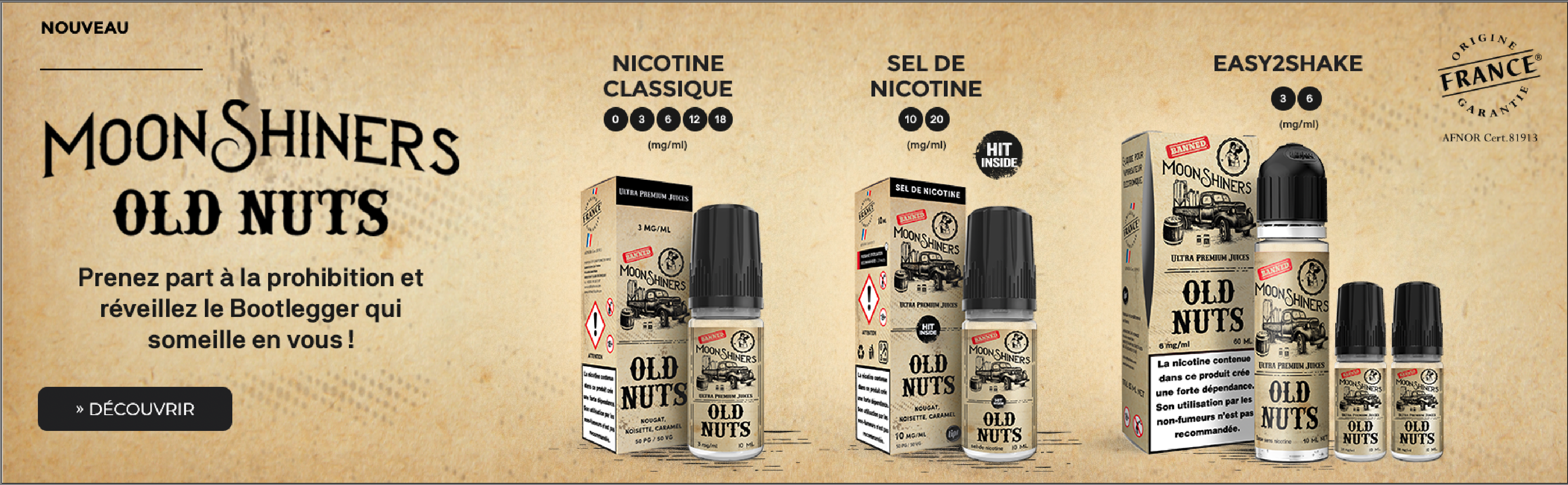Old Nuts Moonshiners - Tous formats