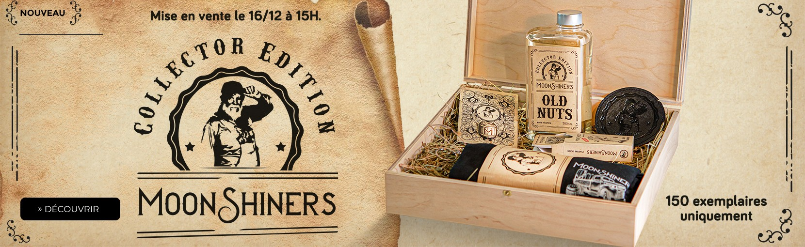 Coffret Moonshiners Édition Collector